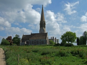 The_Approach_to_Kingweston_Church_-_geograph.org.uk_-_444041